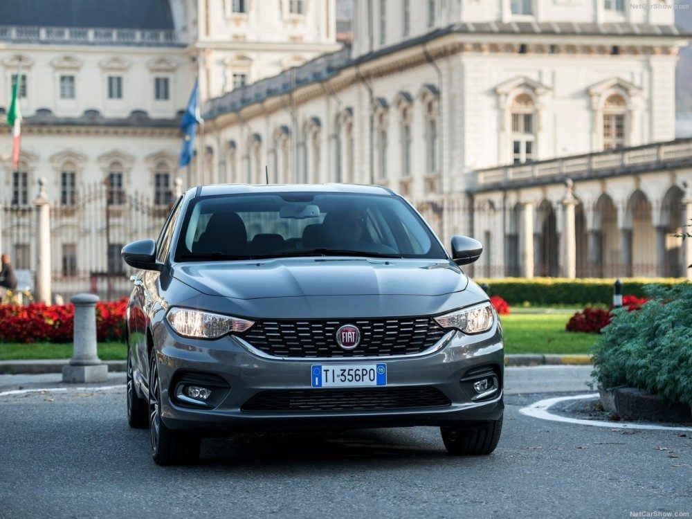 Fiat Tipo 2016 foto anteriore frontale