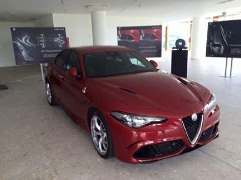 Al Motor Village di Arese nuove immagini di Alfa Romeo Giulia 2016