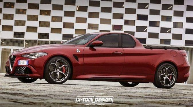 Alfa Romeo Giulia Pick Up