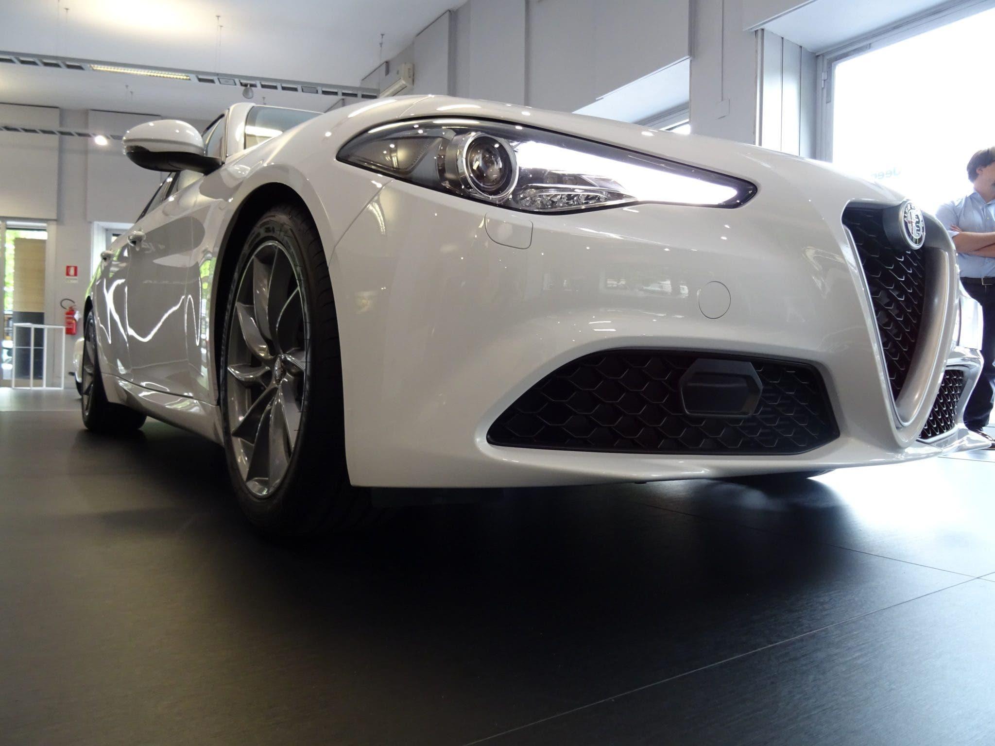 Club Alfa Romeo Giulia muso