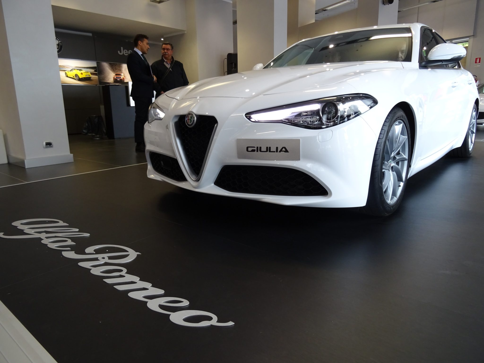 Club Alfa Romeo Giulia frontale muso
