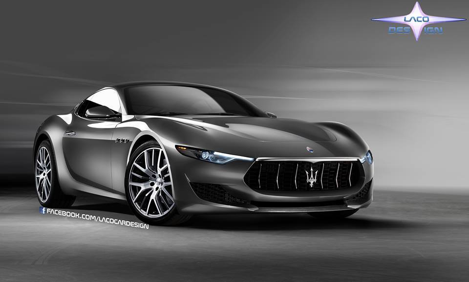 Maserati Alfieri 2018: un nuovo render dal web