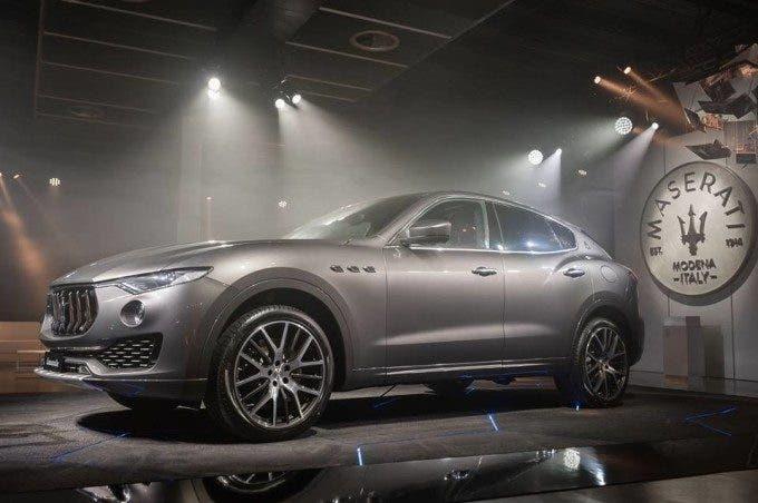 Maserati Levante: già 14 mila ordini per il nuovo Suv del Tridente