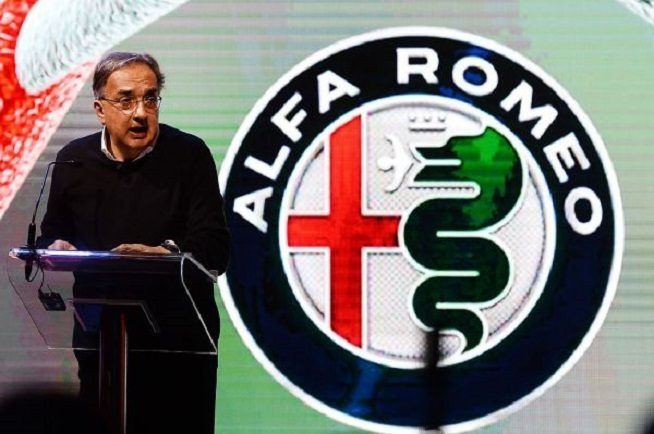 Sergio Marchionne Alfa Romeo
