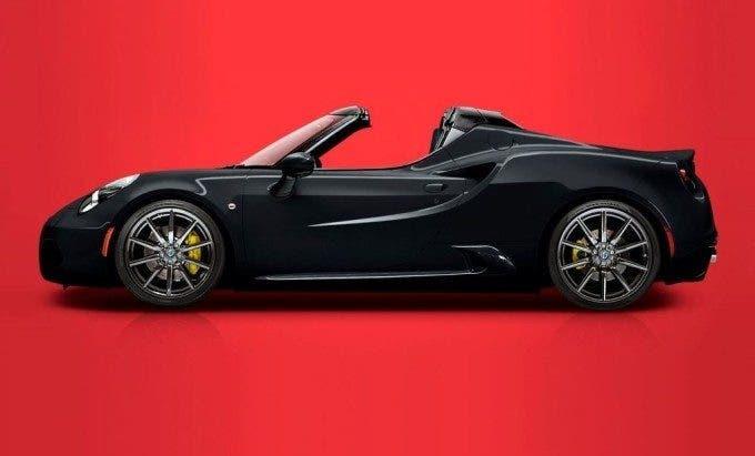 Alfa Romeo 4C Spider Speciale