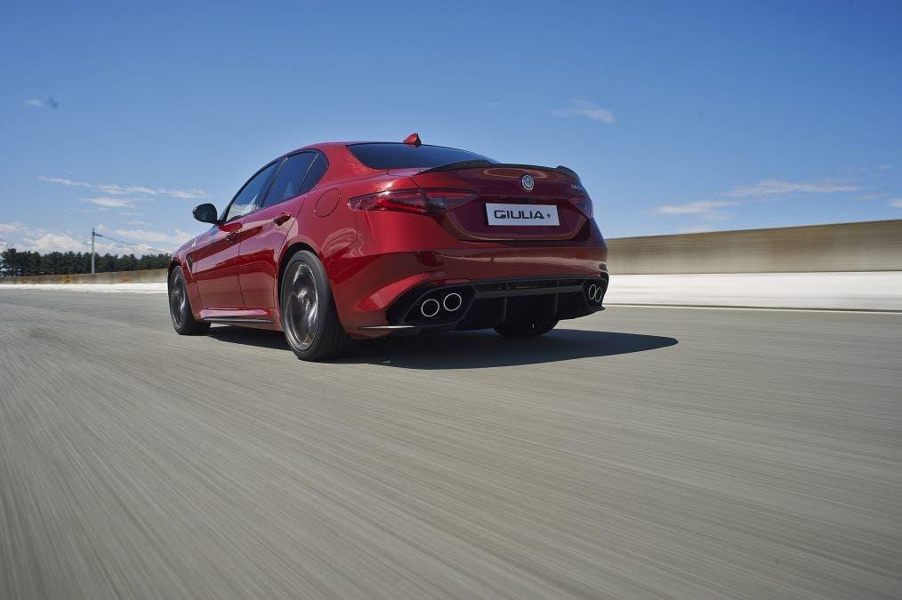 Alfa Romeo Giulia Quadrifoglio: