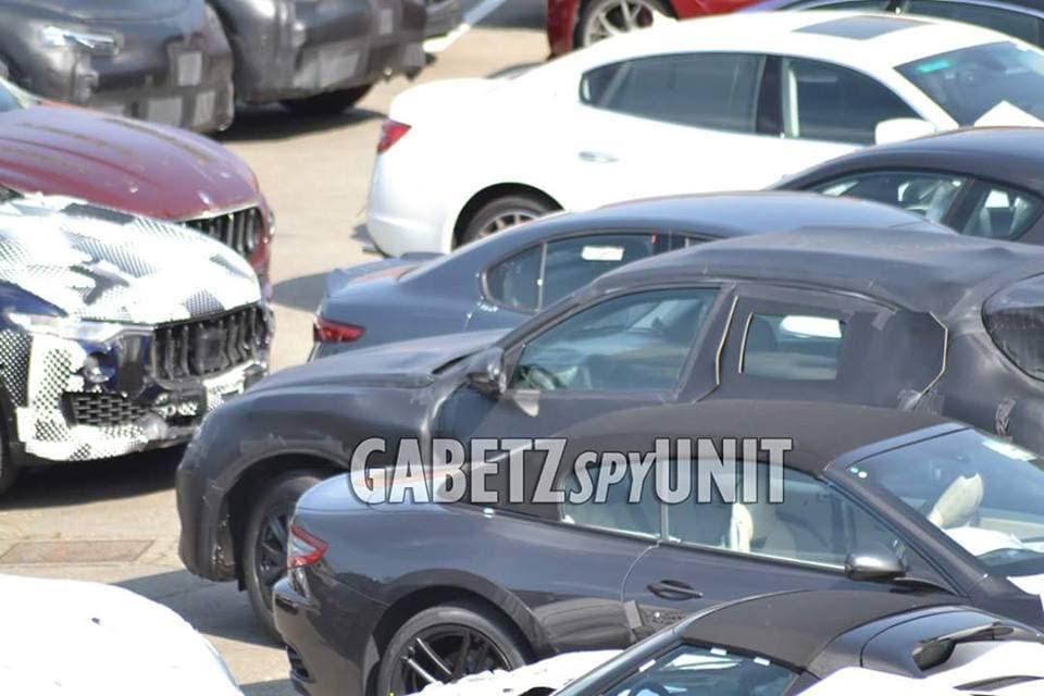 Alfa Romeo Stelvio spy