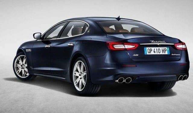 Maserati Quattroporte restyling è la nuova arma nelle mani di Reid Bigland