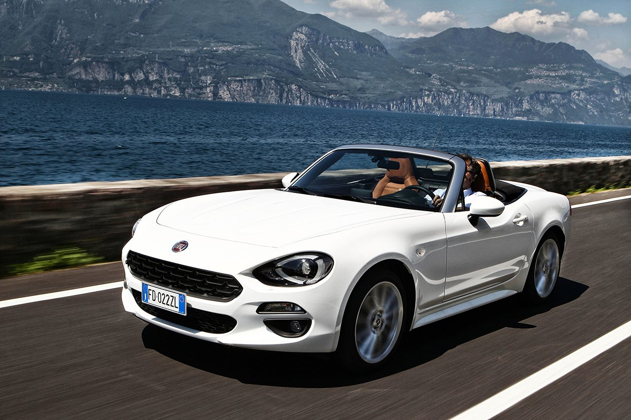 fiat 124 spider 500s e abarth 595 porte aperte questo week end. Black Bedroom Furniture Sets. Home Design Ideas