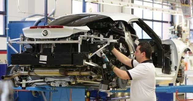 Alfa Romeo Giulia a Cassino