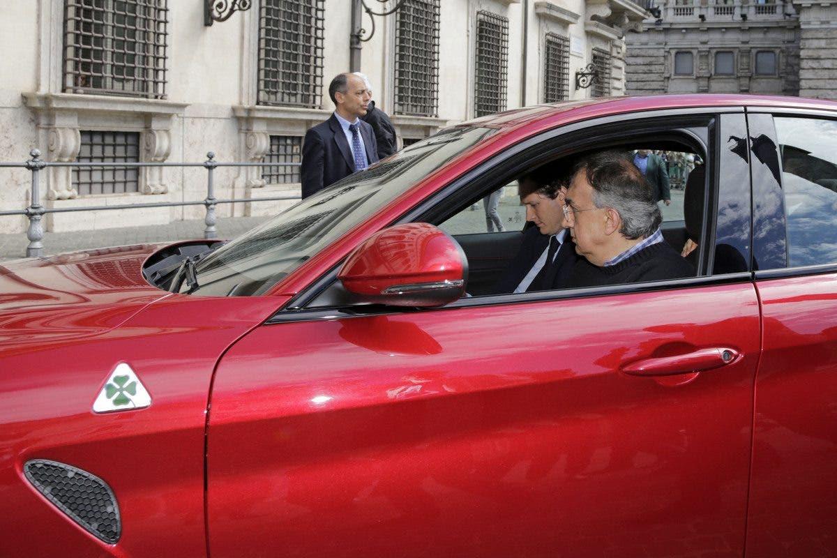 Alfa Romeo Giulia e Sergio Marchionne