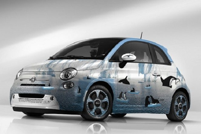 Fiat 500 by Garage Italia customs