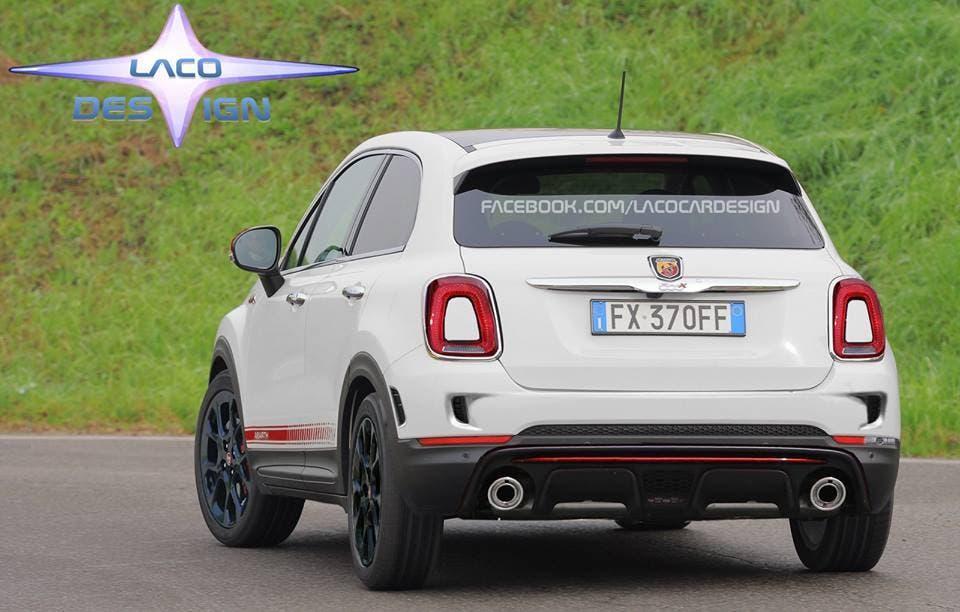 Fiat 500x Abarth Il Nuovo Render Lo Immagina Cos 236