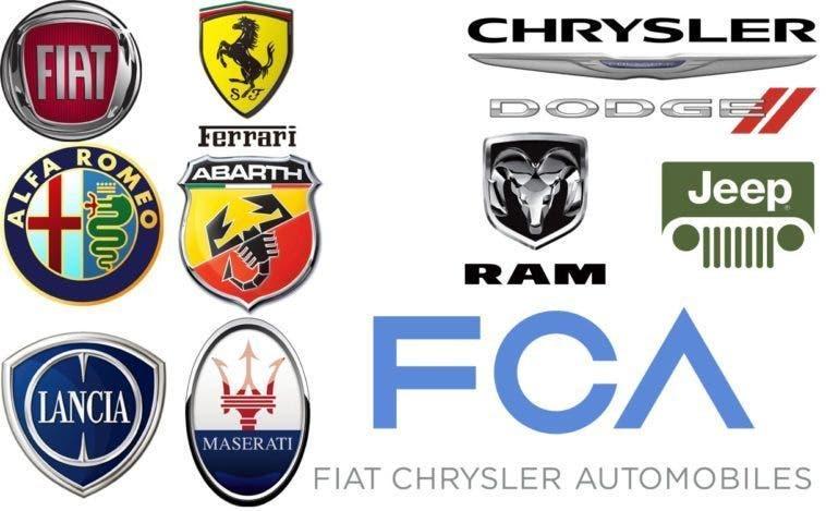 Fiat, Alfa Romeo, Jeep e Lancia