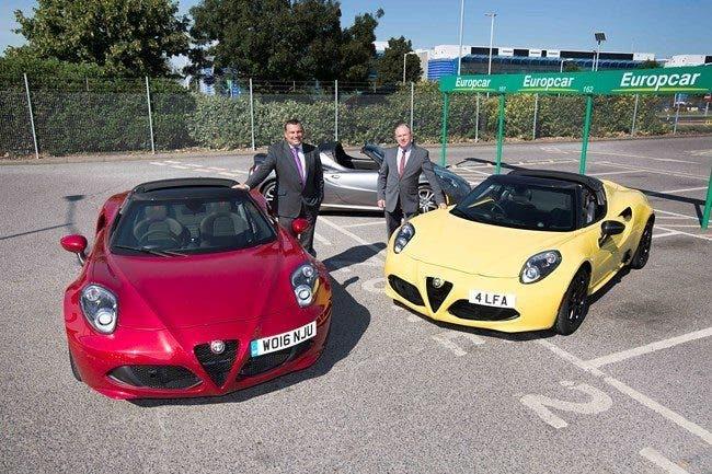 Alfa Romeo 4C Europcar