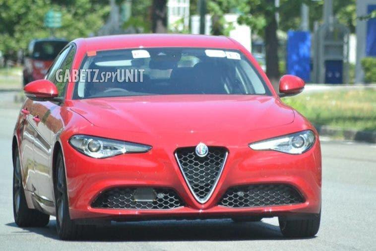 Alfa Romeo Giulia RHD