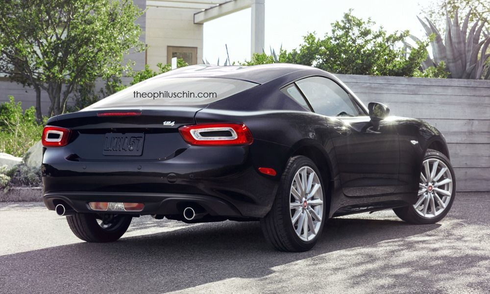 Fiat 124 Spider coupe