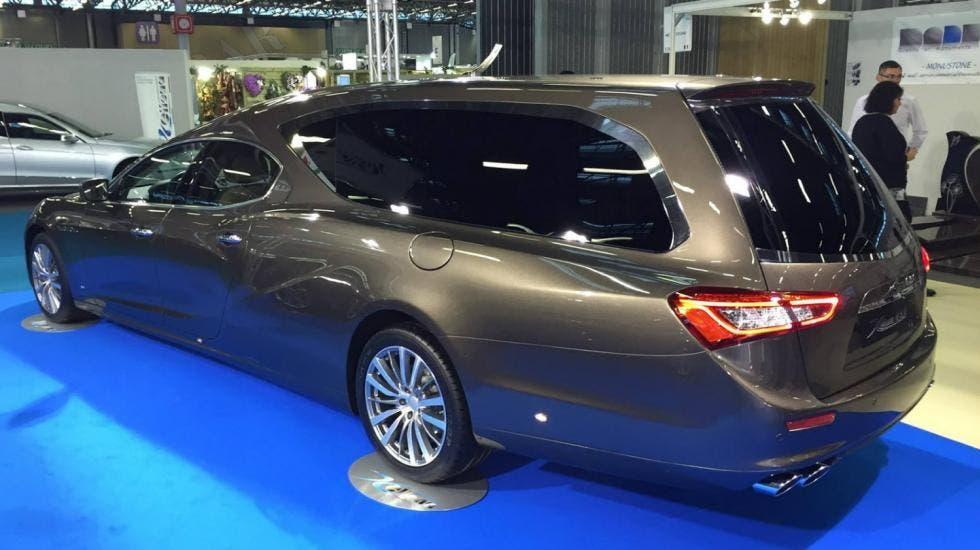 Maserati Ghibli carro funebre
