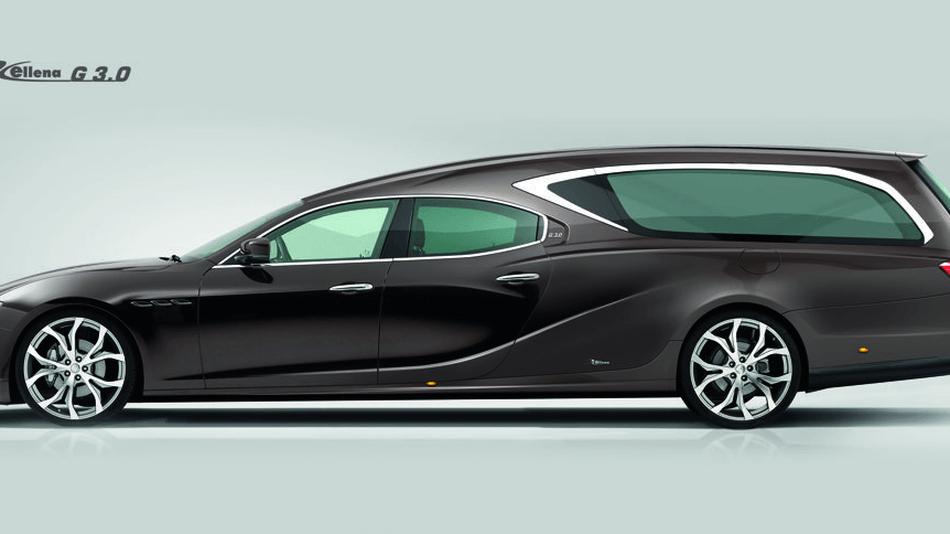 Maserati Ghibli: azienda italiana ha trasformato la berlina in carro funebre