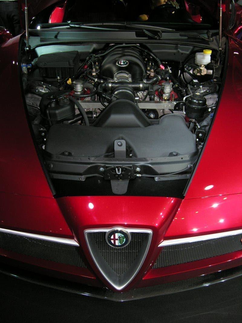Motore Anteriore centrale 8C