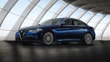 Salone di Parigi 2016 alfa romeo giulia business
