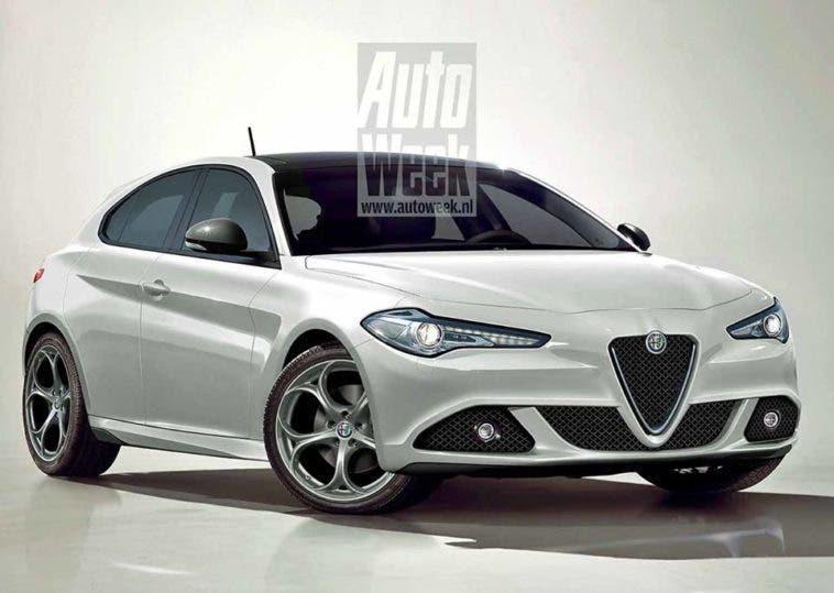 Alfa Romeo Giulietta Rendering
