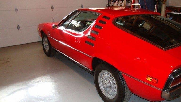 Alfa Romeo Montreal 1971 in vendita su Ebay a 77 mila dollari