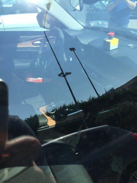 La plancia del SUV Alfa Romeo Stelvio in una nuova foto spia