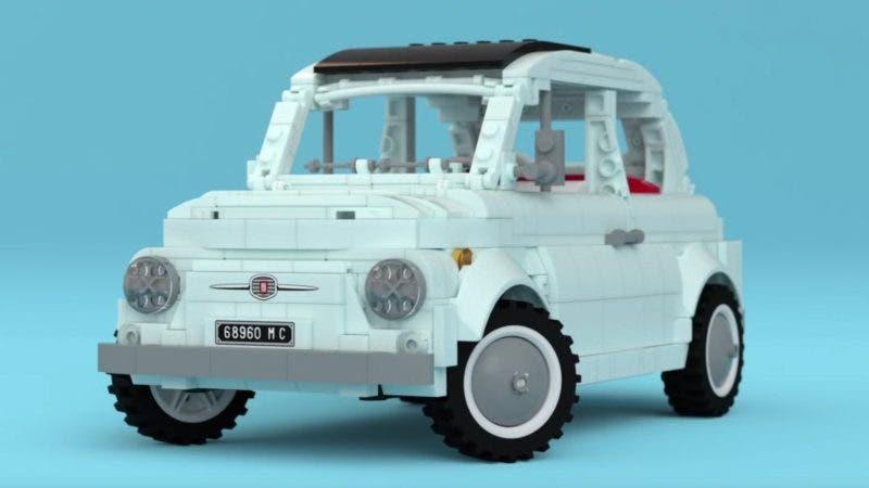 Fiat 500 Lego: ha tutto il fascino italiano del modello originale