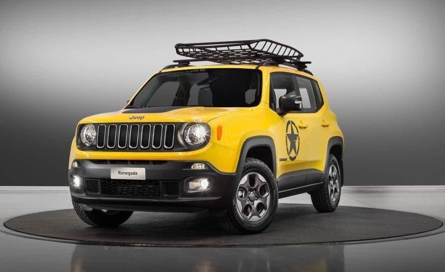 Jeep Renegade MoparONE è la versione più 'americana' del piccolo SUV