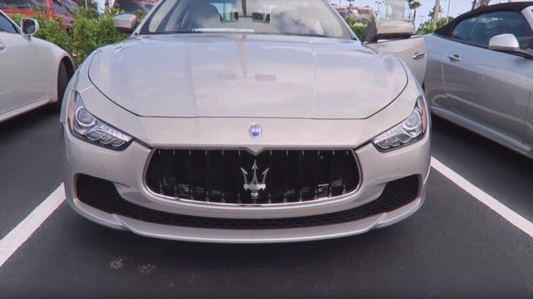 Il frontale della nuova Maserati Ghibli 2017