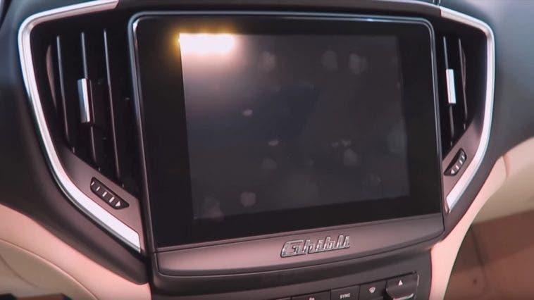 Il nuovo sistema di infotainment della Maserati Ghibli MY 2017