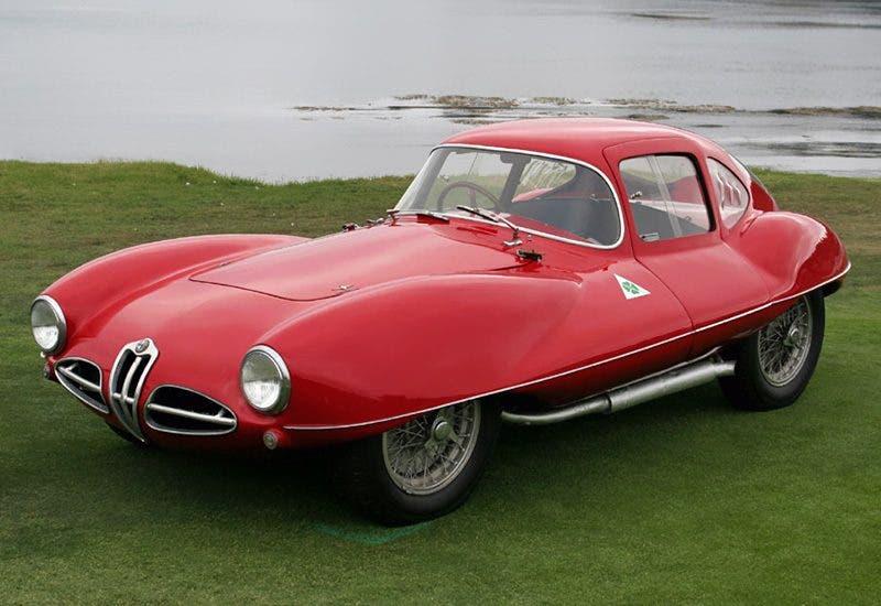 1953 Alfa Romeo 1900 C52 Disco Volante Coupe;