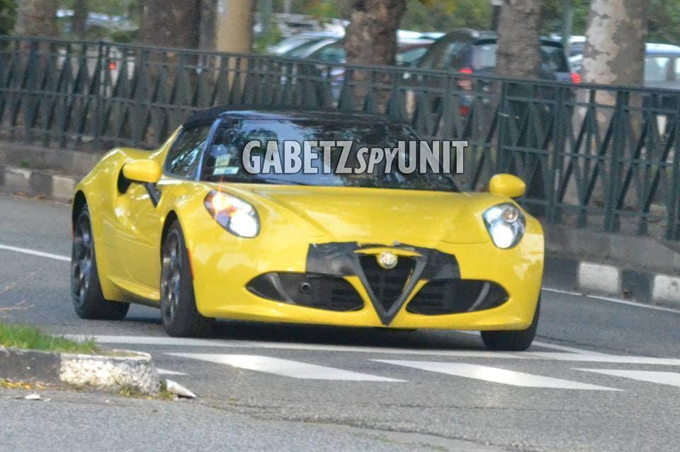 Alfa Romeo 4C Spider 2017