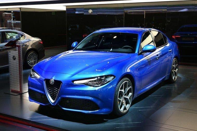 L'Alfa Romeo Giulia Veloce Salone di Parigi 2016