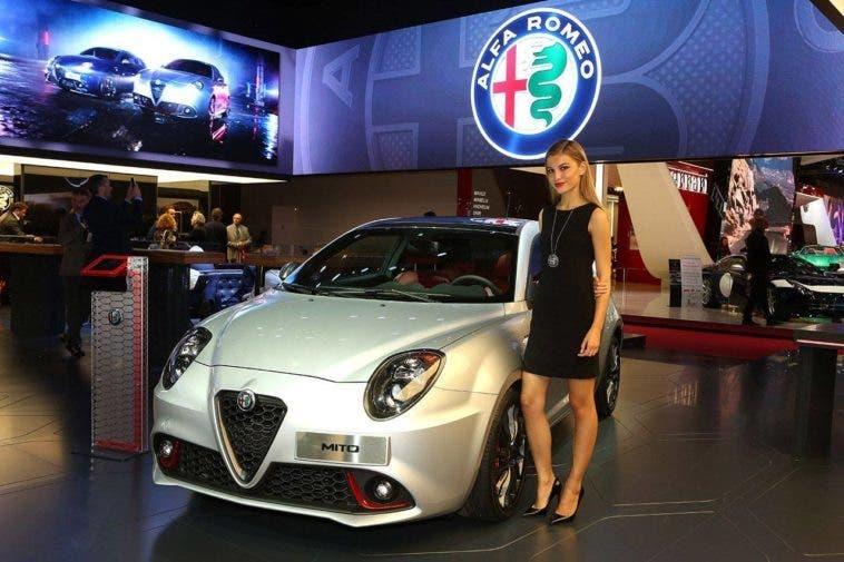 L'Alfa Romeo Mito Veloce Salone di Parigi 2016