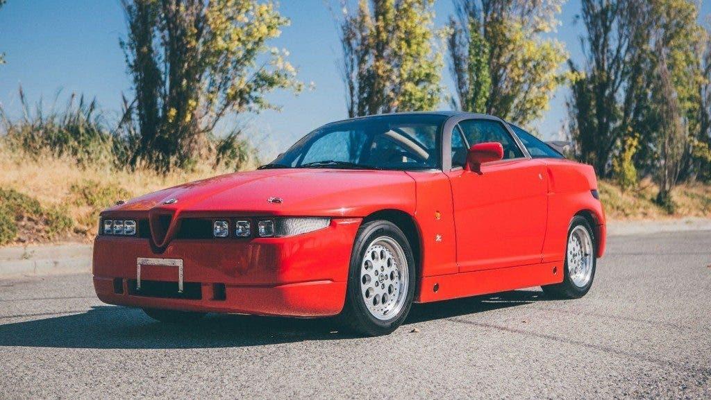 Alfa Romeo SZ: eBay riporta in vita il celebre modello mai dimenticato