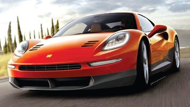 Ferrari Dino 296 si prepara a competere con la Porsche 911