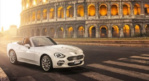 Fiat 124 Spider Legend Tour