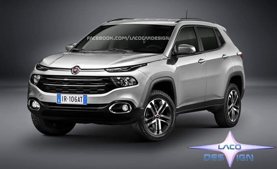 Fiat Toro Suv 2018: il render di Laco Design su base della Jeep Compass