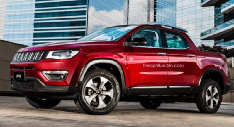 Nuova Jeep Compass: in arrivo versione Pick Up per il Sud America