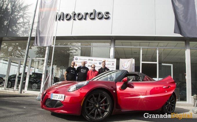 Alfa Romeo: ottavo Raduno a Granada in Spagna foto credits Granadadigital.es