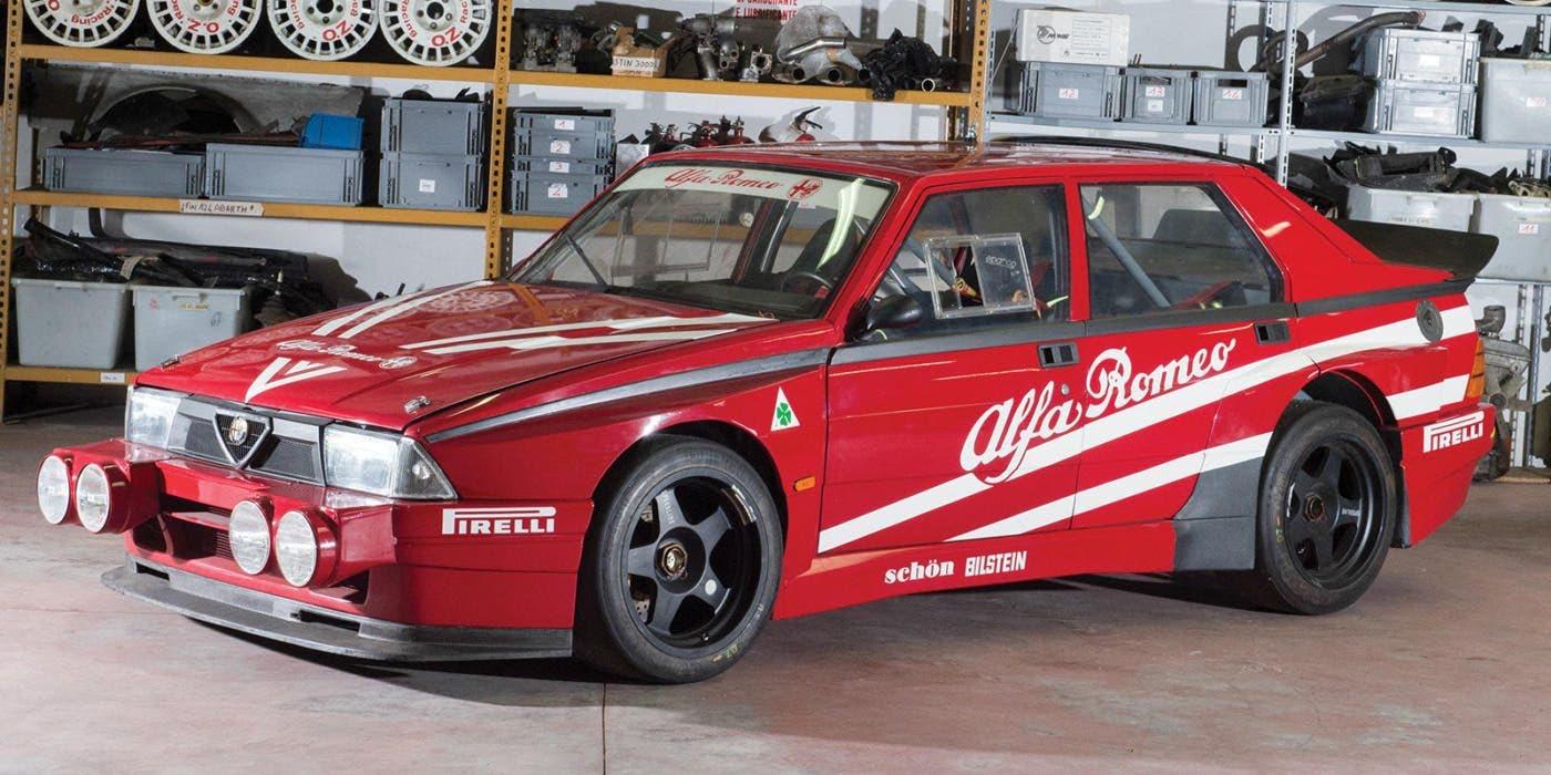 Alfa Romeo 75 Turbo Evoluzione: all'asta per una cifra tra 100 e 120 mila euro