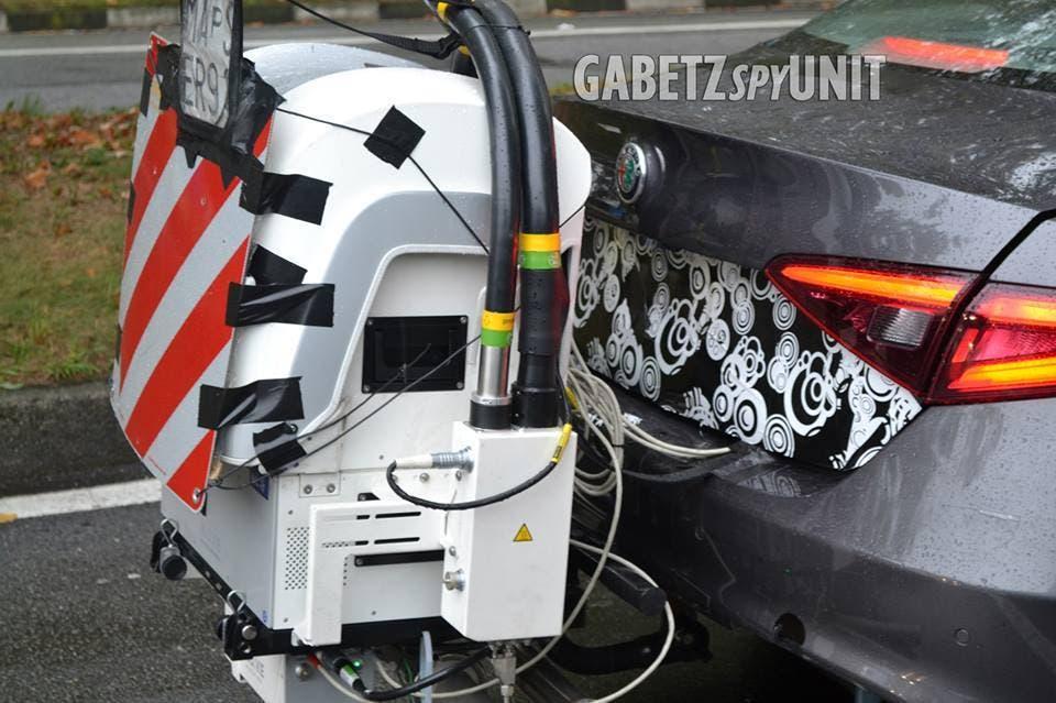 Alfa Romeo Giulia nuovi sistemi antinquinamento