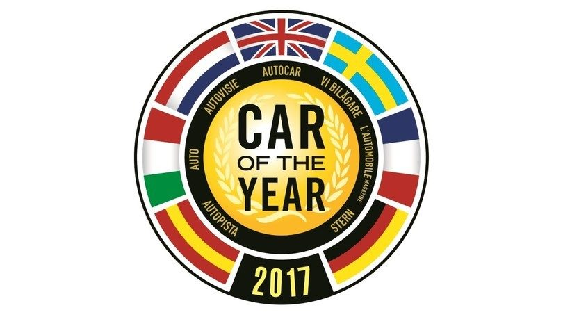 Car of the Year 2017: le 7 finaliste