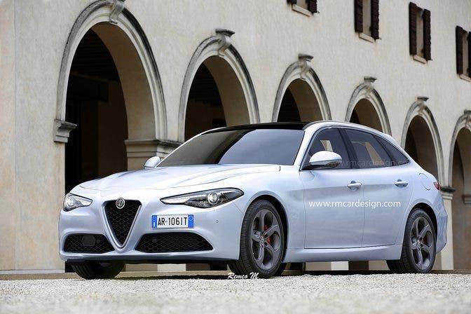 Alfa Romeo Giulia Sportwagon 2018