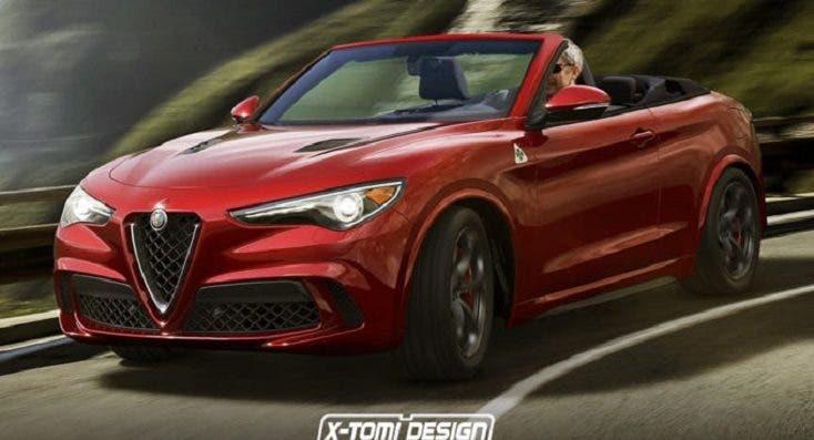 Alfa Romeo Stelvio Cabrio: ipotesi fantasiosa dal web