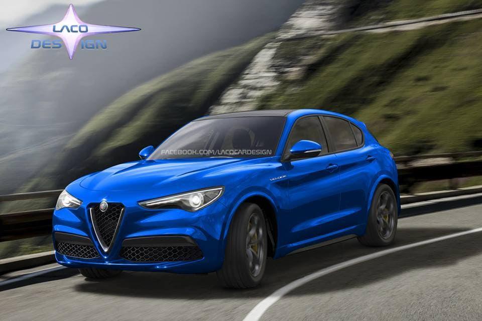 Alfa Romeo Stelvio Veloce: il render di Laco Design arriva su Facebook