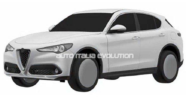 Alfa Romeo Stelvio: le immagini dei brevetti sul web