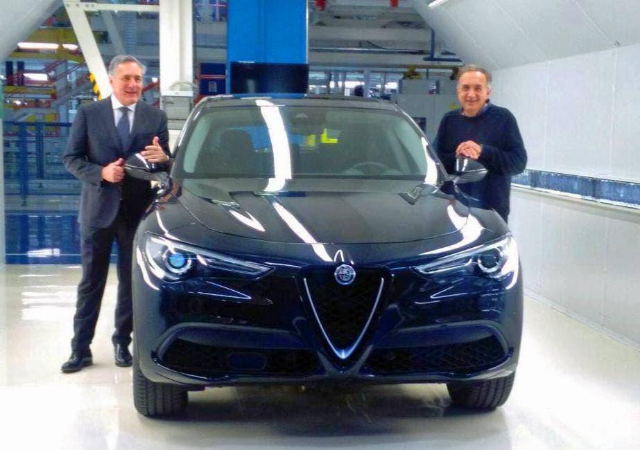 Alfa Romeo Stelvio normale: le immagini vere da Cassino